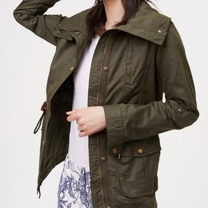 LOFT | Army Green Utility Jacket